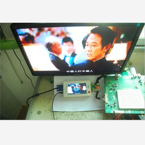 Image 2 - TKDMR TV160 Generation of LVDS Turn VGA Converter With The Display LCD/LED TV Motherboard Tester Mainboard Tool Free Shipping