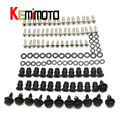 2008 2009 ZX10R Moto Full Fairing Screws Nut Bolts For Kawasaki Ninja ZX-10R ZX10R 2008 2009 08 09