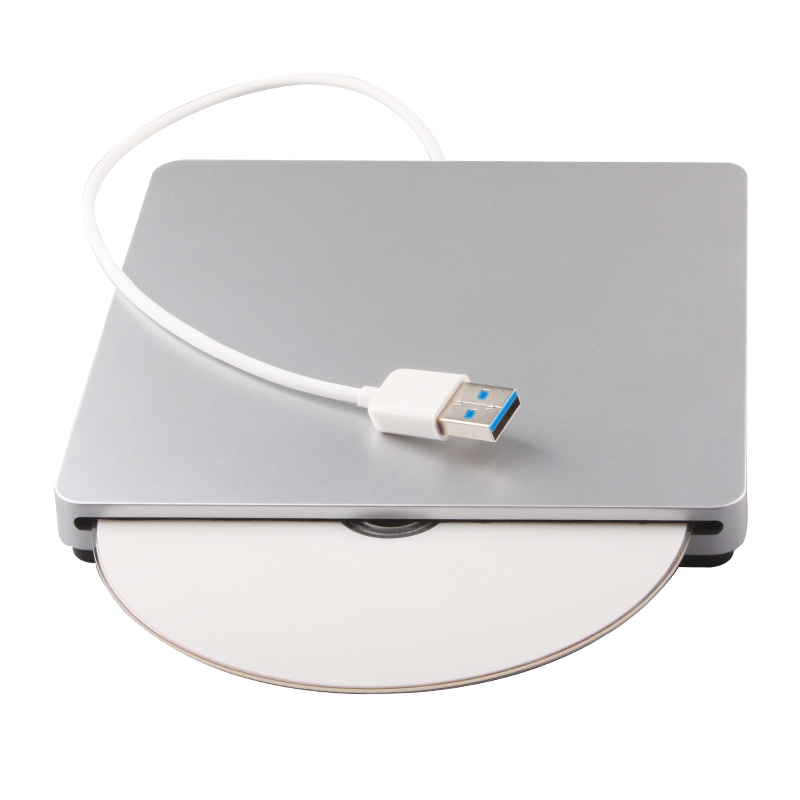 External Blu-ray Burner USB 3.0 SuperDrive  6X 3D Dual Layer DL BD-RE Writer Optical Drive Case третий лишний blu ray