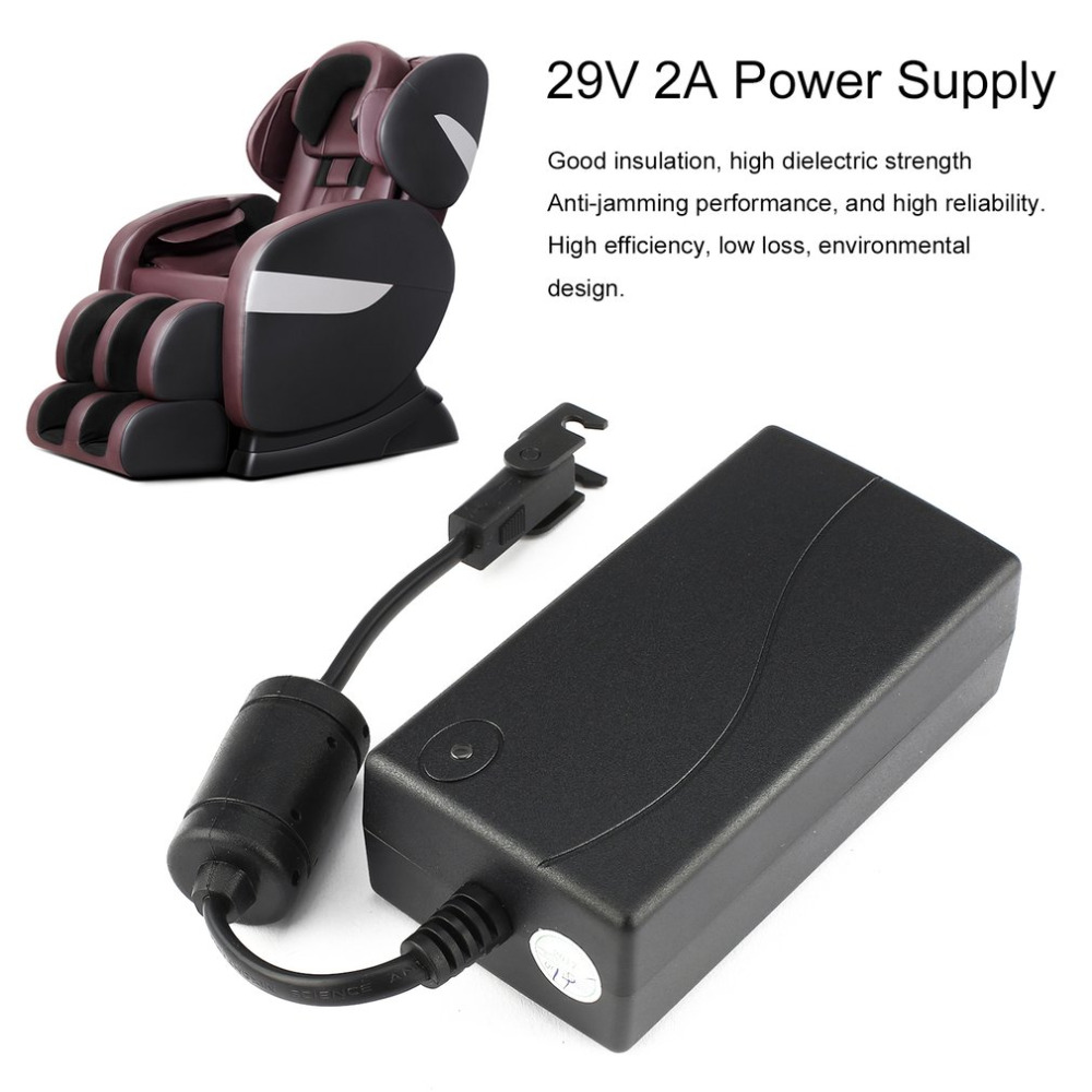 29V 2A AC/DC 2 Pin Electric Recliner Sofa Chair Adapter Transformer Power Supply with Pulling Buckle for Limoss for OKIN|AC/DC Adapters| |  -