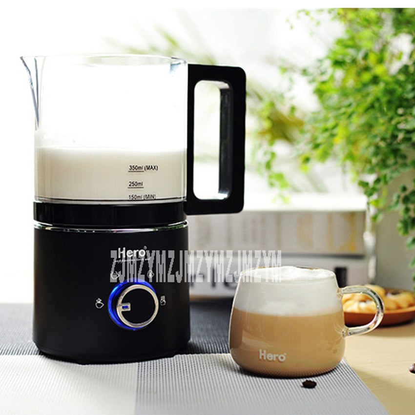 220V / 550W milk foam machine automatic coffee hot and cold playing milk electric fight foam business stainless steel milk 220v fully automatic electric milk formula hot and cold milk foam machine emf2w