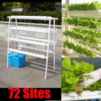 72 Holes Plant Hydroponic Systems Grow Kit Nursery Pots Anti Pest Soilless Cultivation Indoor Garden Culture Planting Seedling