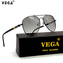 VEGA Women Mens Photochromic Sunglasses Polarized Photochrom