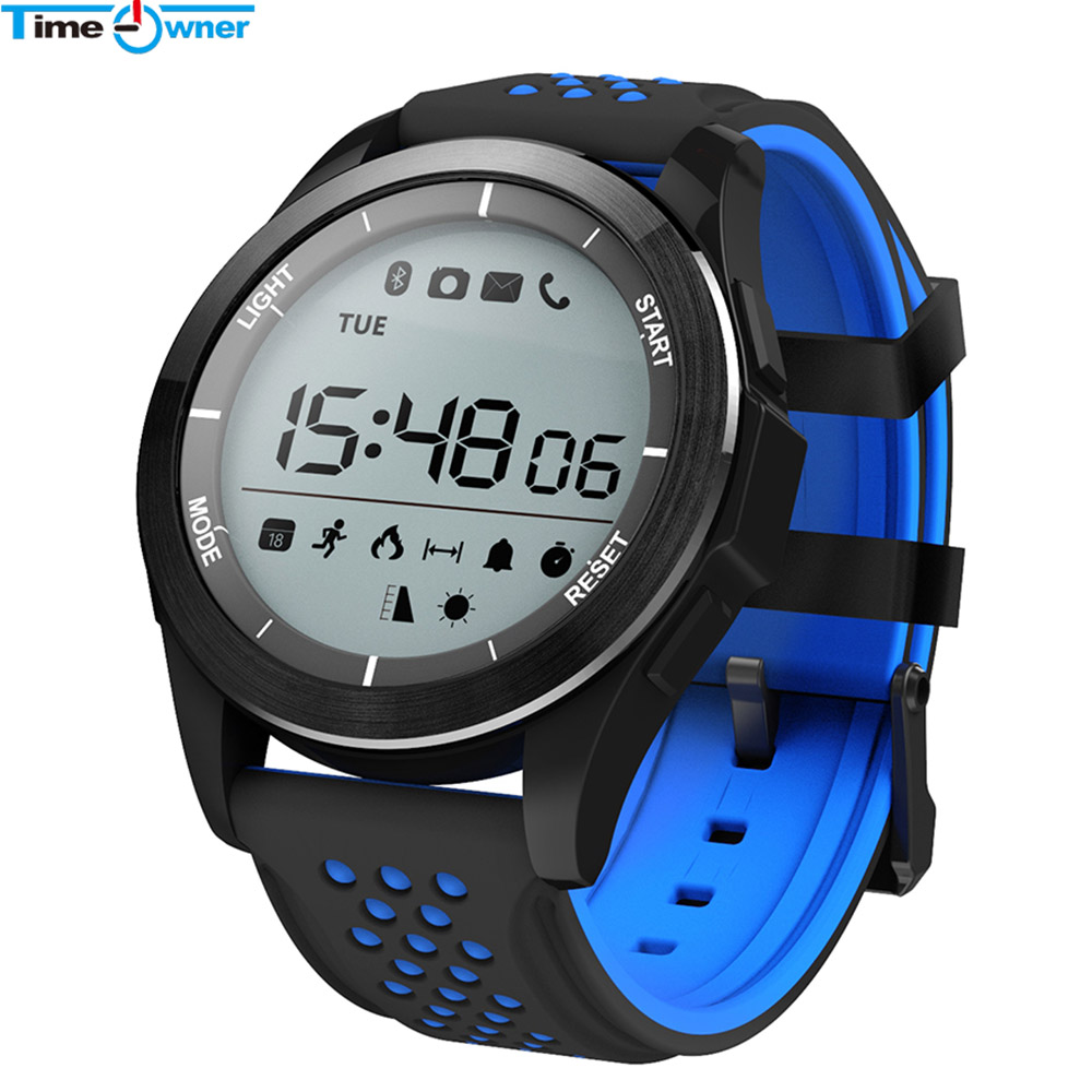 Time Owner TWF3 Smart Watch Waterproof Outdoor Watch SmartWatch Fitness Tracker SMS Remind Long Standby Battery for Android ios