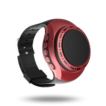 U6 Watch Bluetooth 3.0 Speaker Radio Audio Anti-lost Self Timer Hand-held Waterproof