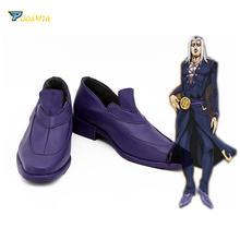 Jojo странные приключения Золотой ветер Леон abbacchio обувь