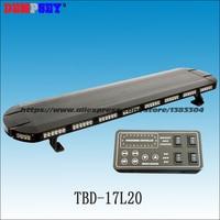 TBD 17L20 Прямая продажа с фабрики светодио дный светодиодный стробоскоп предупреждение свет бар/красные, синие полиции аварийного световой дл