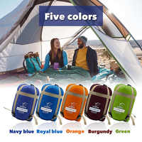 Enveloppe extérieure sac de couchage Mini ultraléger multifonction sac de voyage randonnée Camping sacs de couchage Nylon 190*75 cm sac paresseux