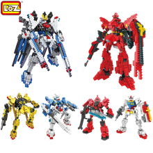 Hot Sale New Genuine LOZ Diamond Blocks GUNDAM Assembled Model DIY Children Toys Educational Gift Series Free Shipping