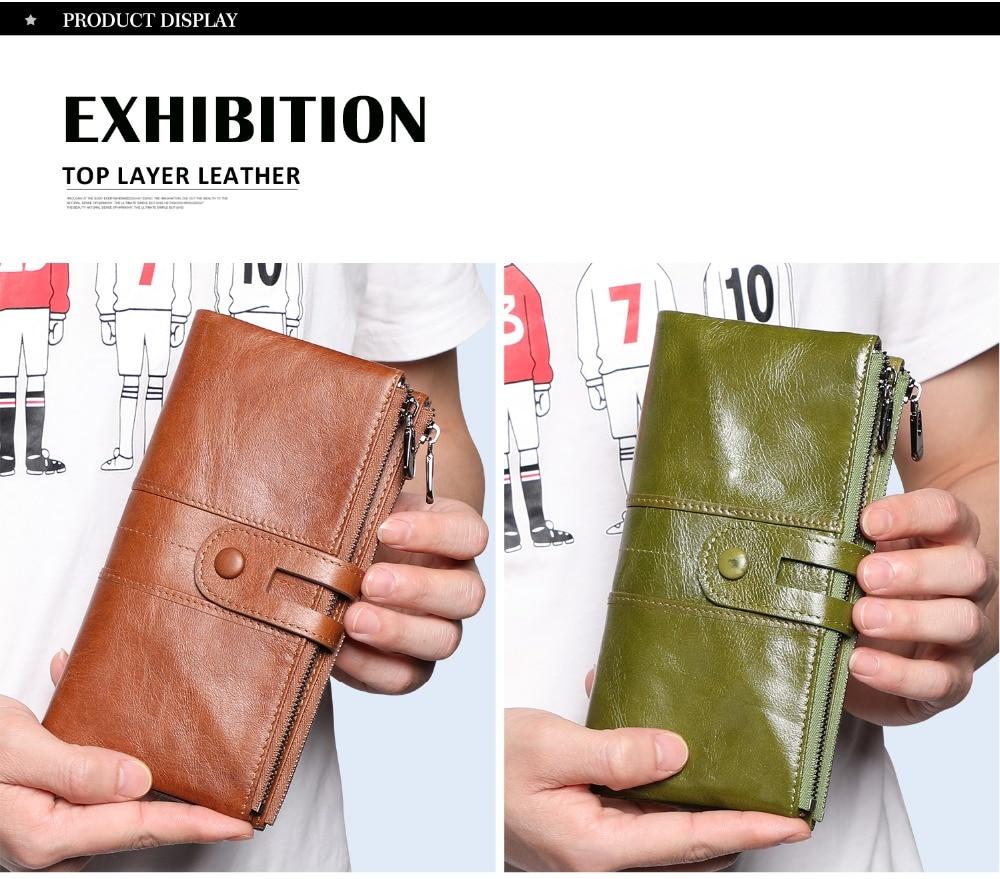 2072--Genuine Leather long Women Wallet-Casual Clutch Wallets_01 (7)