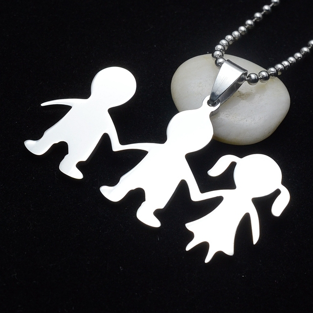 antique tone charm jewelry necklaces in boy arrival pendant will from chain necklace always be item rope lot silver little new you my