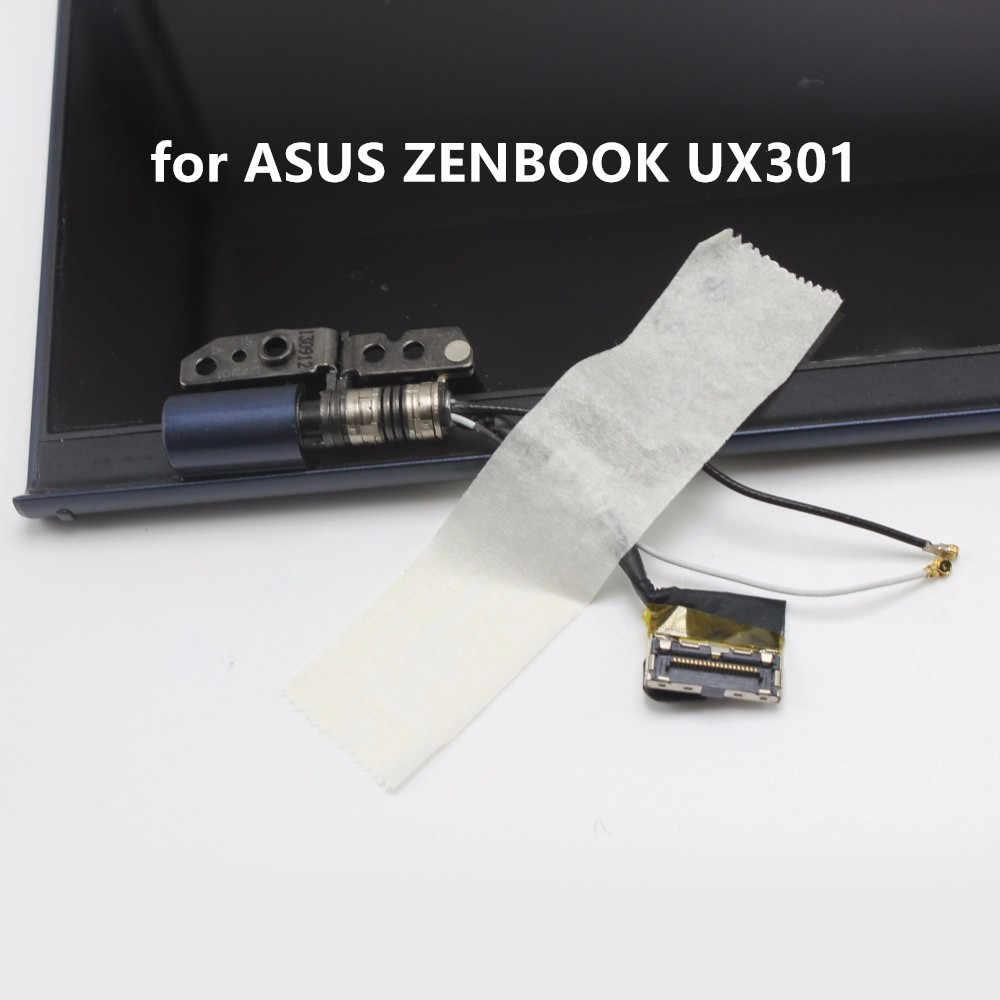 Полный ЖК дисплей экран сенсорный дигитайзер замена сборки для ASUS Zenbook UX301 UX301LA задняя крышка Бесплатная доставка