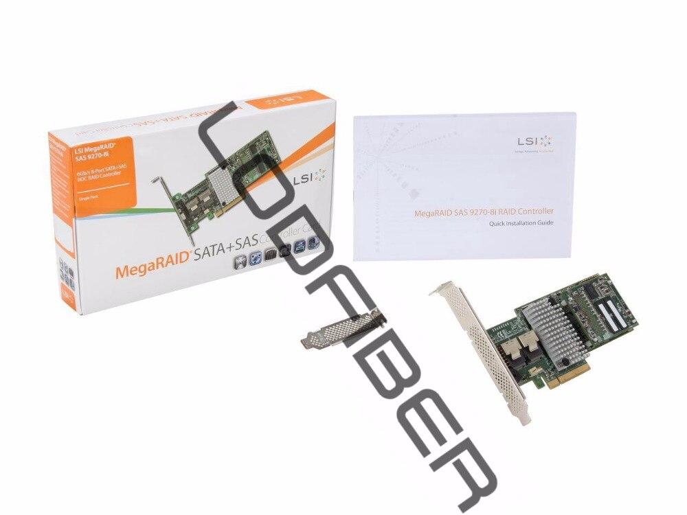 LODFIBER for LSI MegaRAID LSI00326 (9270-8i) PCI-Express 3.0 x8 Low Profile SATA / SAS RAID CLODFIBER for LSI MegaRAID LSI00326 (9270-8i) PCI-Express 3.0 x8 Low Profile SATA / SAS RAID C