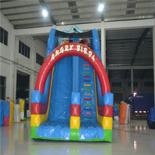 customized inflatable slide bouncer with blower