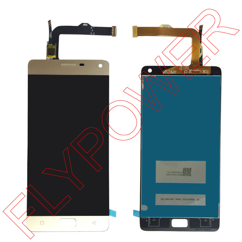 For Lenovo VIBE P1 LCD Display With Touch Screen Digitizer Assembly Gold color; 100% warranty аксессуар чехол lenovo k10 vibe c2 k10a40 zibelino classico black zcl len k10a40 blk