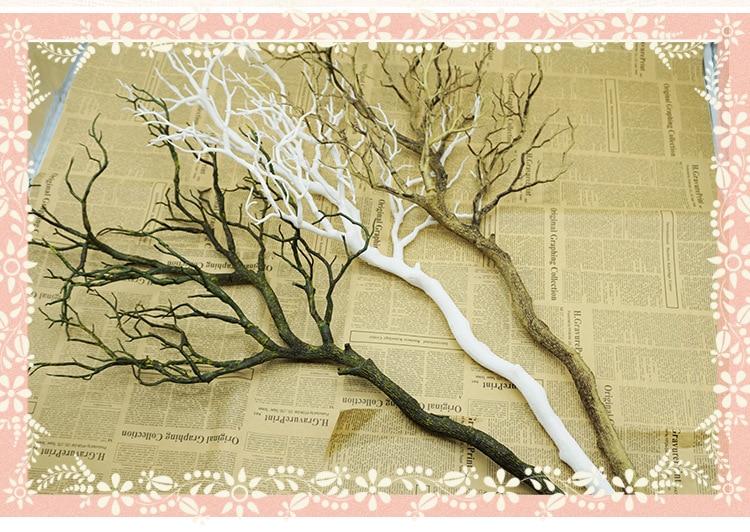 Flone Искусственные цветы Коралловая ветвь искусственный цветок имитация букет растение большая ветка дерева Свадебные вечерние украшения для дома