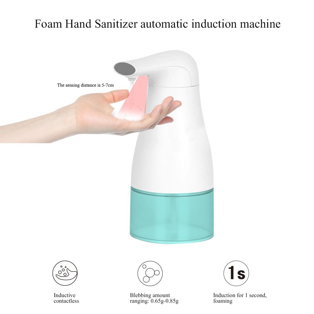 Mano Libera 250 ml 400 ml Automatico di Sapone Dispenser Touchless Disinfettante Dispenser Intelligente Sensore di Dispenser di Sapone Liquido per Cucina Bagno