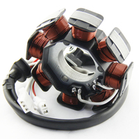 Motorcycle Ignition Magneto Stator Coil for Yamaha 3D9 H1410 00 YBR125 2005 2014 Magneto Engine Stator Generator Coil