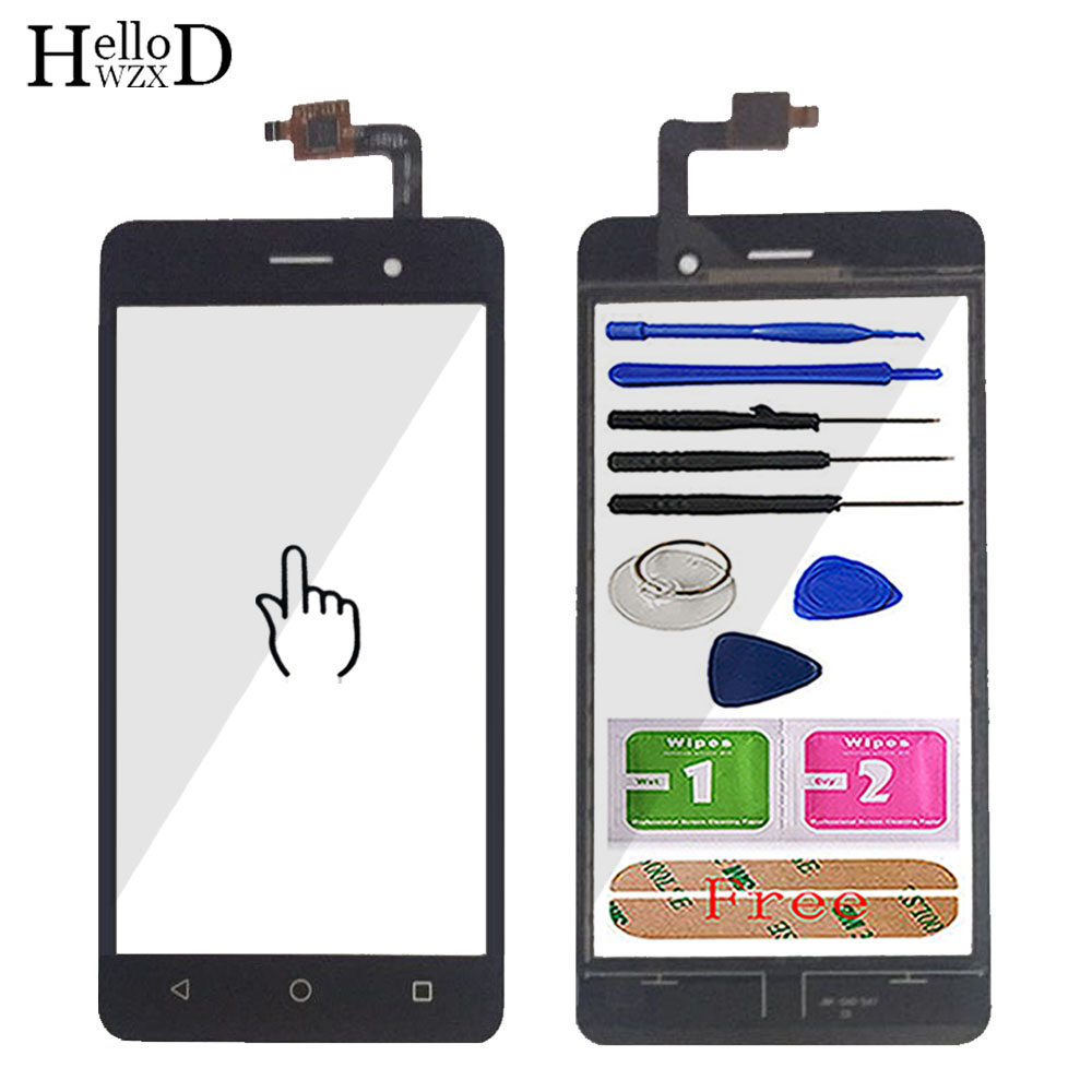 5.0'' Mobile Touch Screen For Wiko Lenny 3 Touch Screen Glass Digitizer Panel Touchscreen Front Glass Lens Sensor Tools Adhesive