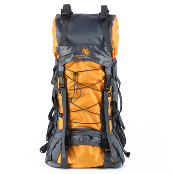 Travel Bags Mountianeering Backpack Free Knight 60L Extra Large Waterproof Nylon Outdoor Sports Professional Climbing Hiking Bag