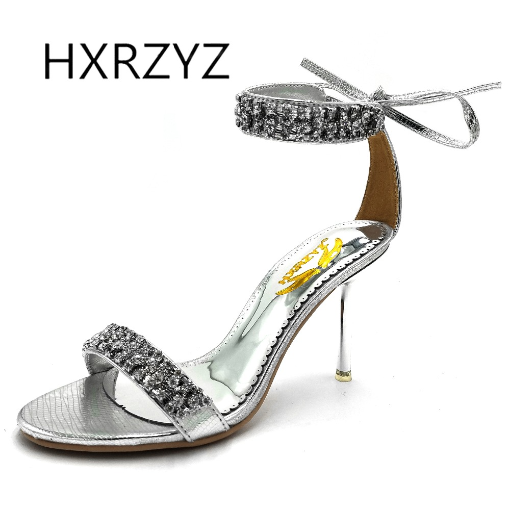 b0974529e2a834 Buy silver high heel sandal and get free shipping on AliExpress.com