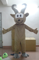 2017 high Latest high quality brown goat mascot costume adult goat costume Holiday special clothing