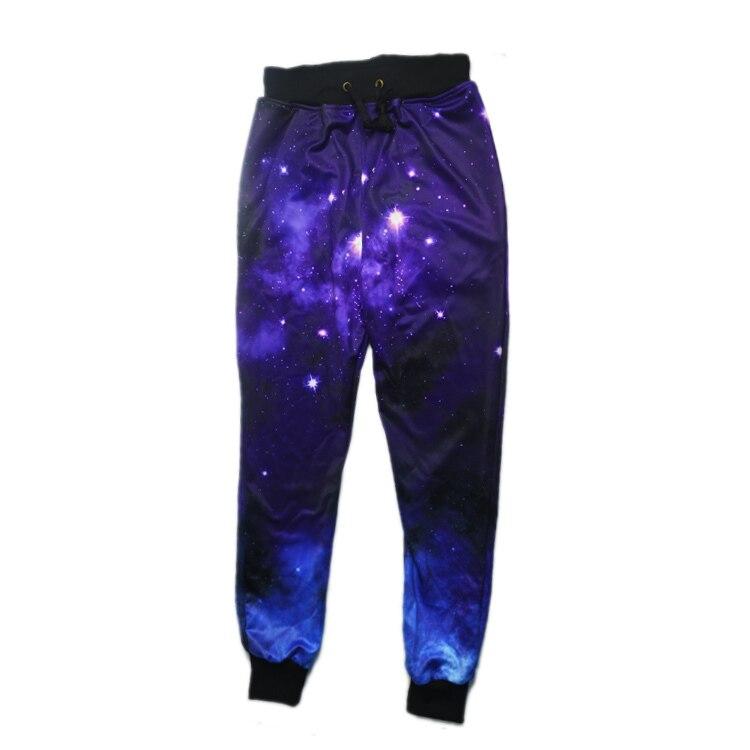 Новинка, модные спортивные штаны, штаны для бега, 3D графический принт, галактика, космос, спортивные штаны для мужчин/wo, мужские брюки в стиле хип-хоп - Цвет: A2