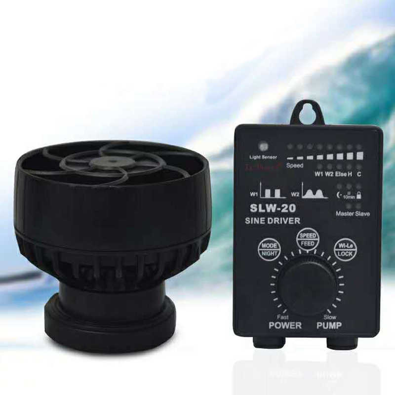NEW Jebao SLW Series Aquarium Fish Tank Sin Wave Frequency Conversion Wave Maker Wave Pump SLW-10 SLW-20