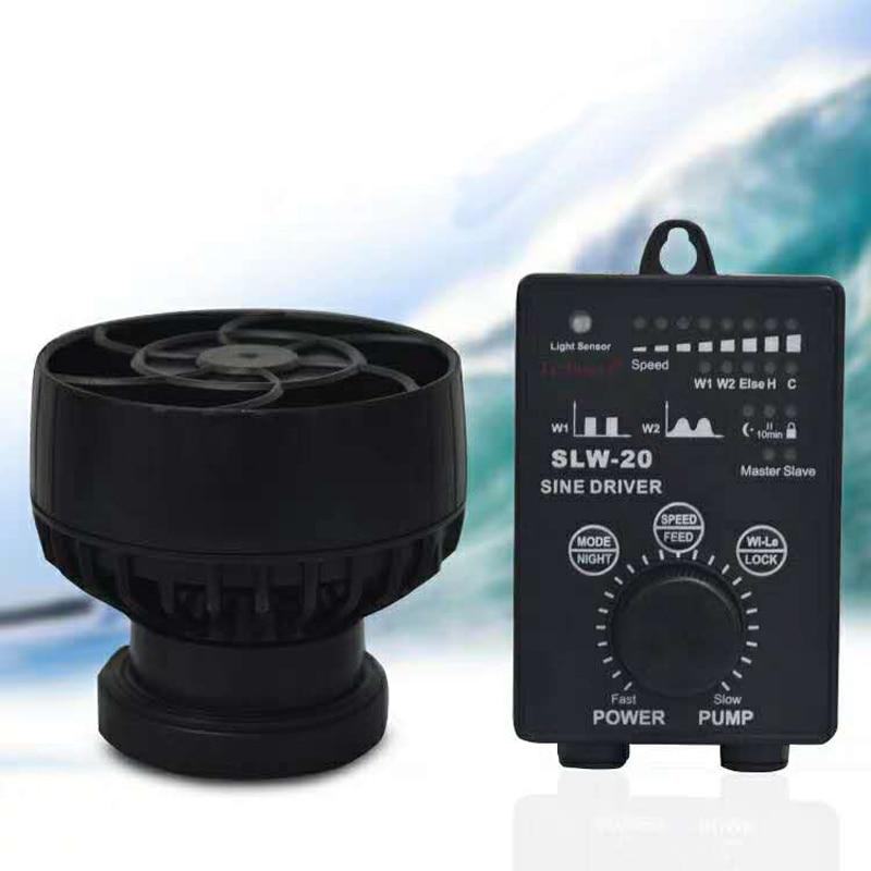 Nuevo Jebao serie SLW tanque de peces de acuario pecado frecuencia de onda de fabricante de la onda de SLW 10 SLW 20-in Bombas de agua from Hogar y Mascotas    1