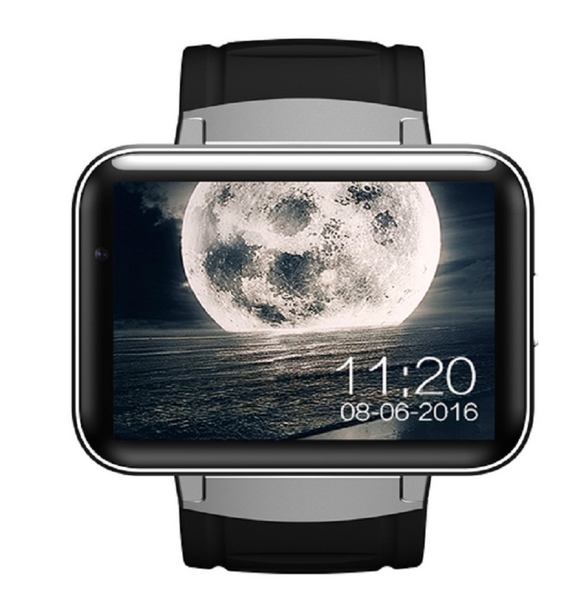 DM98 Bluetooth Smart Watch 2.2 inch Android OS 3G Smartwatch Phone MTK6572 Dual Core 1.2GHz 512MB RAM 4GB ROM Camera WCDMA GPS eastvita dm98 smart watch 2 2 inch hd screen 512mb ram 4gb rom dual core android 4 4 os 3g camera wcdma gps wifi smartwatch r30