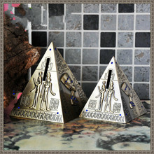 Ancient Egypt Pyramid Piggy Bank Vintage Home Decor Crafts Ornaments Birthday Gift Creative Figurine Money Boxes Hot Sale