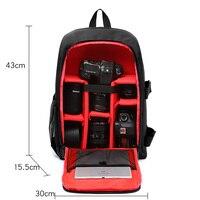 Waterproof DSLR Camera Bag Photo Backpack For Olympus OMD EPL5 EPL6 EPL7 EPL8 EP5 E M10 MarkIII 3 EM10 Mark III 3 EM5 Mark II