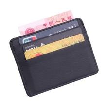TRASSORY для мужчин женщин прочный тонкий Простой путешествия из кожи lichee Банк бизнес ID карты бумажник держатель Чехол с портмоне