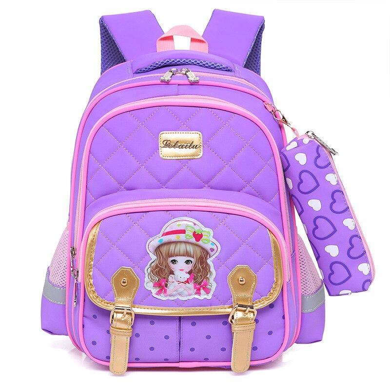 Детские ортопедические рюкзаки для девочек начальных классов самсонайт ортопкдические школьные ранцы рюкзак