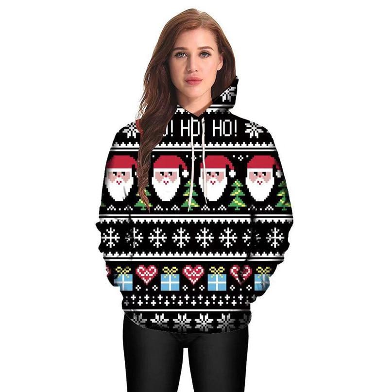Christmas Couples Hoodies Women Man Running Jackets 3D Print Long Sleeve Winter Hoodies Top Blouse Shirts #2N20 (5)