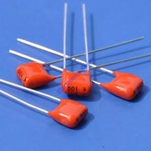 (200 unids/lote) 47nF 100V MKT condensador de película de poliéster metalizado, 0.047uF.