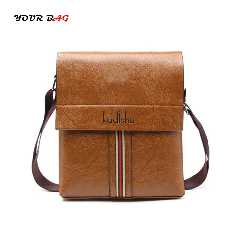 UABG Brand Smooth Leather Men Bags Casual Messenger Bags For Vintage Men's Business Flap Crossbody Bag Male Travel Shoulder Bags men shoulder bags genuine leather vintage male business messenger bags vogue multifunction casual travel crossbody pack rucksack