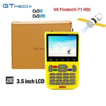 [Genuine] Gtmedia V8 Finder DVB-S/S2 MPEG-4 3.5 polegada Display LCD de Alta Definição 1080 P HD Por Satélite Localizador de sinal HD Gtmedia V-71