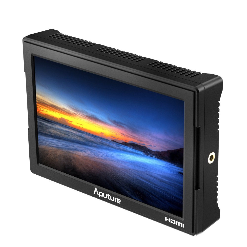 Aputure VS-5 HD-SDI & HDMI 1920*1200 LCD Screen Video Monitor for Sony Canon Nikon Panasonic DSLR Support Waveform Vectorscope aputure vs 1 v screen digital video monitor