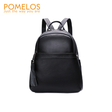 POMELOS Backpack Women 2019 New Arrivals Genuine Leather Small For Rucksack Womens Street Fashion Style Backpacks