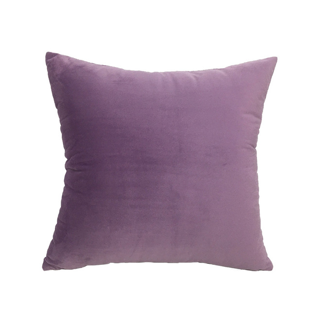 Solid Velvet Decorative Cushion Covers 6