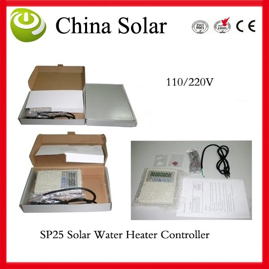 Conscientious Sp25 Water Heaing System Control Auxiliary Heating Control,system Frost /system Overheating Protection,anti-bacteria Moderate Price Solar Controllers Solar Power