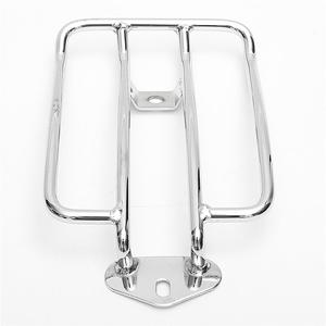 Image 1 - 1 Pcs Motorcycle Rear Solo Seat Fits Luggage Rack Support Shelf For   XL883/1200 X48 Modified Retro Luggage Rack Tailstock