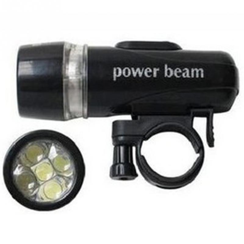 2016 new high light 5 led power beam bike bicycle headlight torch lamp in bicycle light from. Black Bedroom Furniture Sets. Home Design Ideas