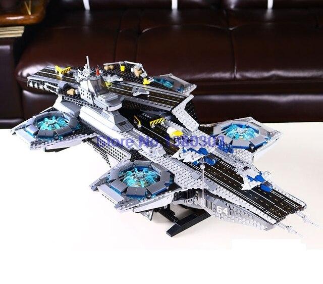 marvel lego helicarrier