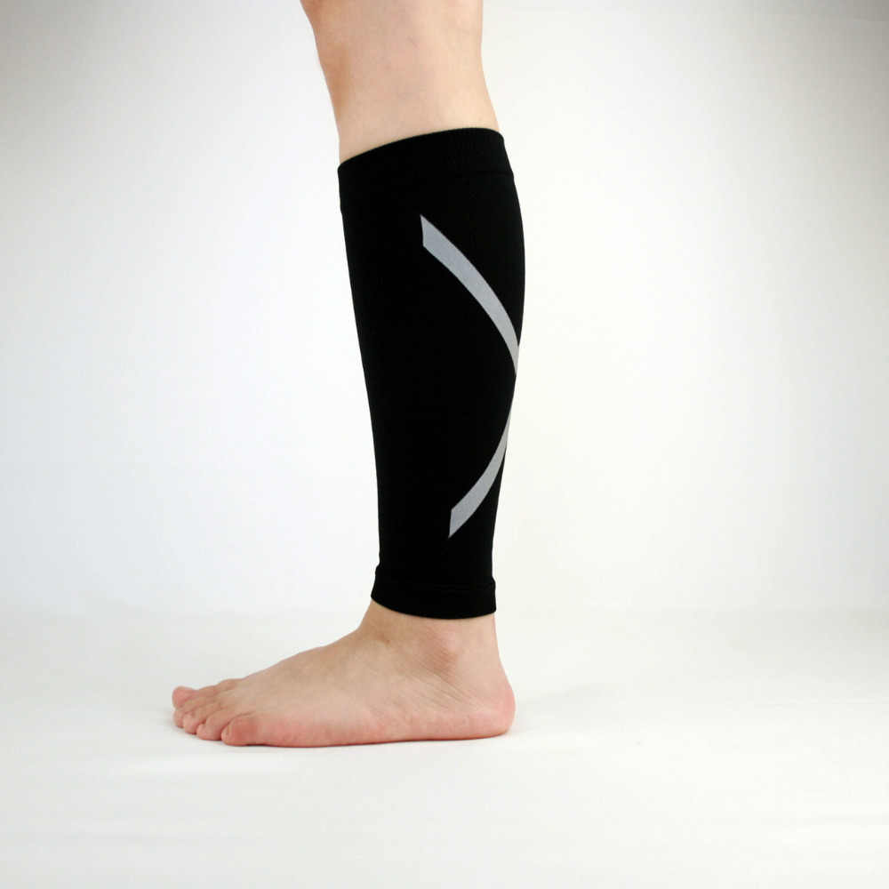 74c7e34c62 ... Calf Compression Sleeve, Footless Socks Shin Splint / Leg Compression  Sleeves Calves & Leg Cramps ...