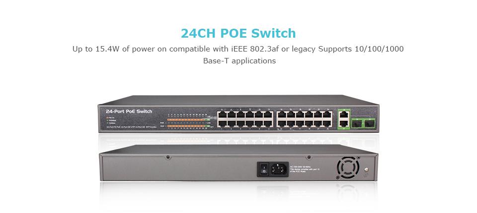 13-POE Switch