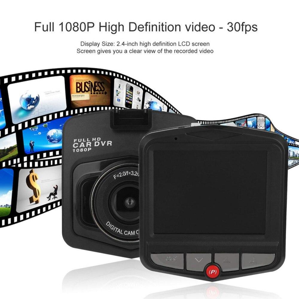 2.4-pouces Voiture DVR Enregistreur Véhicule Circulant Enregistreur de Données Plein 1080 P G-Capteur 32 GB HDMI HD AVI Vidéo Lecture Modes Nuit Vision