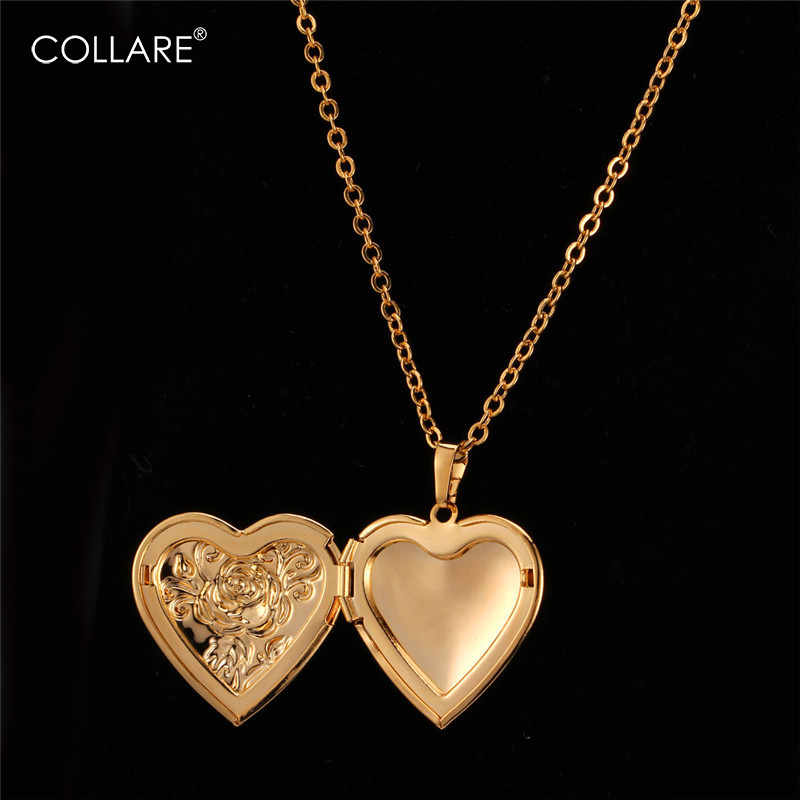 Wholesale Vintage Heart Jewelry Crystal Chain Statement Women Necklace Pendant
