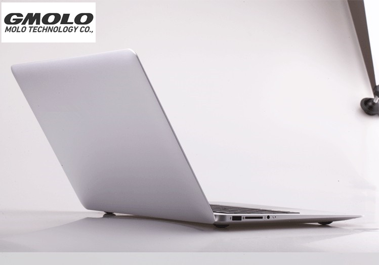 GMOLO Brand 13.3inch Aluminium Laptop Core I7 Notebook Computer 256GB SSD 4GB RAM 7000mAh Battery USB 3.0 HDMI
